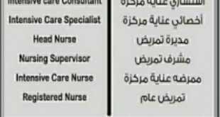 وظائف شاغرة للعمل في مستشفى