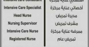وظائف شاغرة لموظفين في مستشفى
